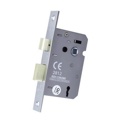 3 Lever Sash Lock Fd Certifire 63mm Chrome