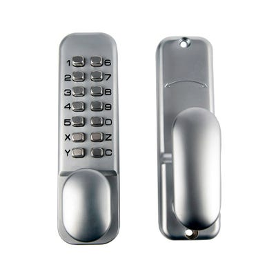 Digital Lock (With Hold Back Function) Satin Chrome