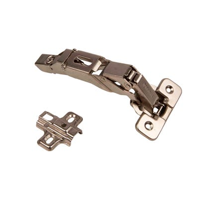 Sprung 165 Degree Clip On Hinges 35mm Pair