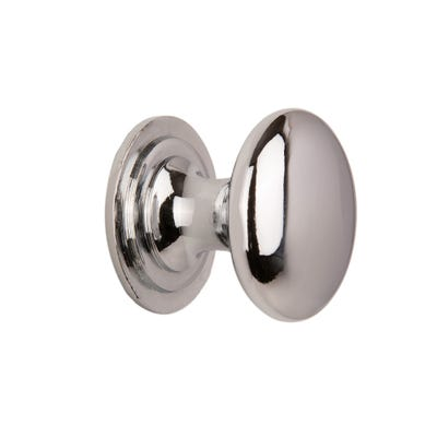 Cupboard Knobs 25mm Chrome Pack Of 2