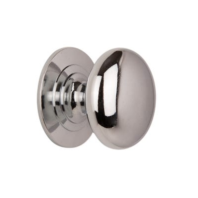 Cupboard Knobs 32mm Chrome Pack Of 2