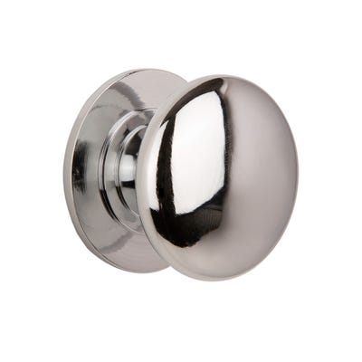 Cupboard Knobs 38mm Chrome Pack Of 2