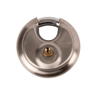 DFDC70 Squire Defender 70MM Discus Padlock Stainless Steel