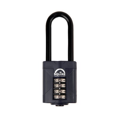 CP50 2.5 Squire 50MM Combination Padlock Extra Long Shackle