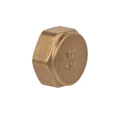 Compression Brass Cap 19mm
