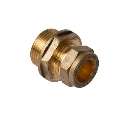 Compression Male Coupling 15mm x ¾''