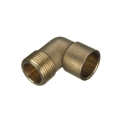 End Feed Male Elbow 22mm x ¾''