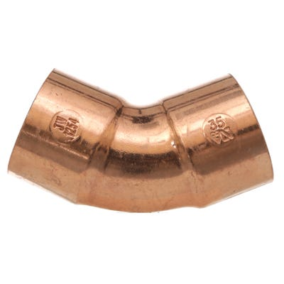 End Feed 45° Obtuse Elbow 35mm