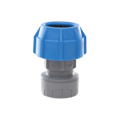 25mm x 22mm Polypipe Polyfast Straight Coupler 47825