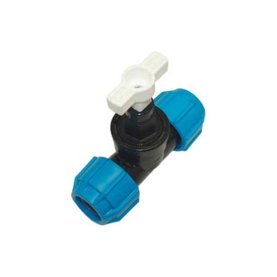 32mm Polypipe Polyfast Stop Cock 42632