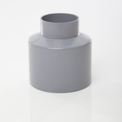 110mm Polypipe Soil Reducer to Waste Requires Boss Adaptors Grey SO65G