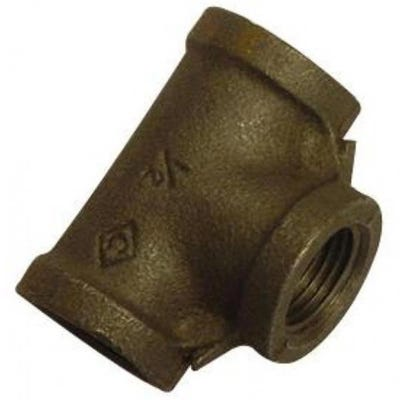 Malleable Black Iron Equal Tee 19mm