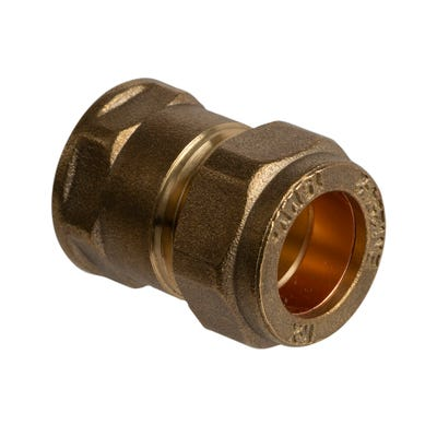 Compression Female Coupling 15mm x ¼''