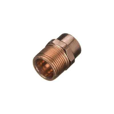End Feed Male Coupling 15mm x ½''