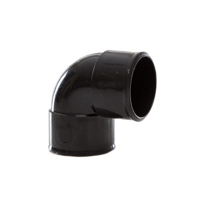 40mm Polypipe 90° Waste Knuckle Bend Black MuPVC MU212B