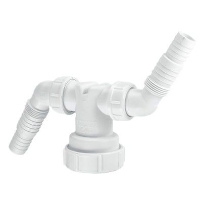 McAlpine V33WM Twin Washing Machine Connector 38mm