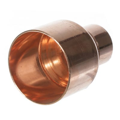 End Feed Fitting Reducer 54mm x 28mm