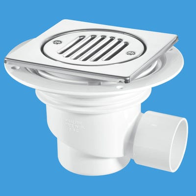 Mcalpine Trapped Shower Gully 75mm