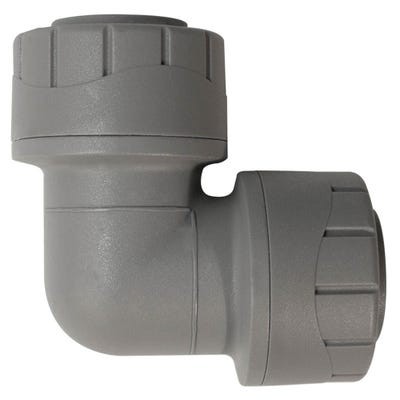 22mm Polypipe Polyplumb Elbow Grey PB122