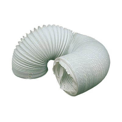 Manrose 100mm / 4'' x 1m Length PVC Flexible Ducting