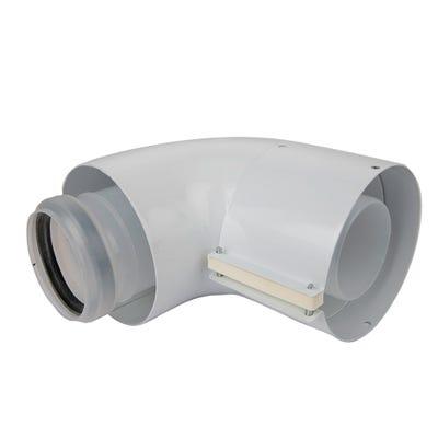Vaillant Ecotec Flue 90° Elbow 303910