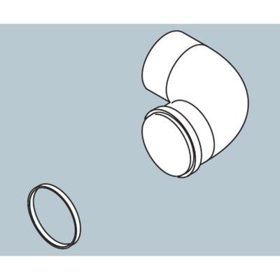 Biasi Pluming Elbow - 90° Bend x 60mm Diameter