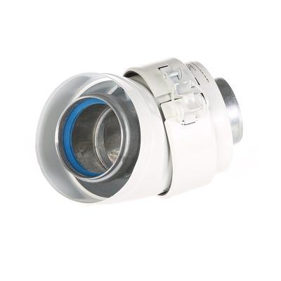 Intergas Rapid 45° Flue Elbow 60mm/100mm