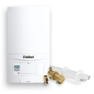 Vaillant Ecofit Pure 825 Pack with Horizontal Flue & 22M Filter