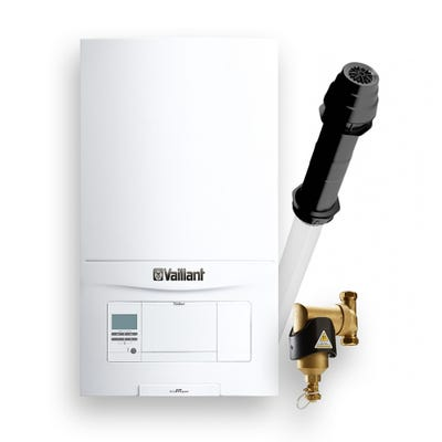 Vaillant Ecofit Pure 830 Pack with Vertcal Flue & 22M Filter
