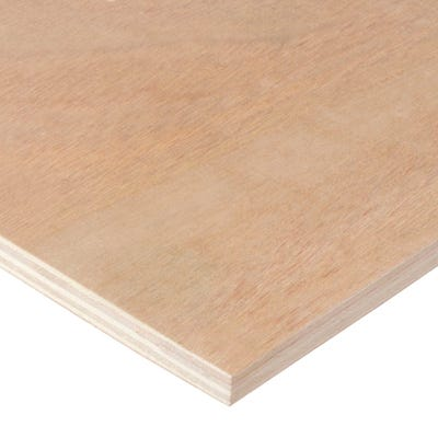 9mm Hardwood External Grade Plywood B/BB 2440mm x 1220mm (8' x 4')