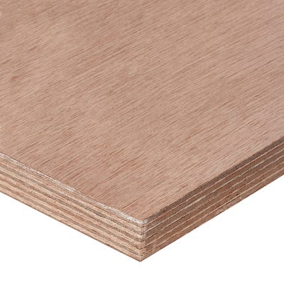 25mm Far Eastern Marine Grade Plywood 2440mm x 1220mm (8' x 4')