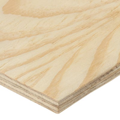 12mm Softwood Plywood C+/C Grade 2440mm x 1220mm (8' x 4') Pack of 75