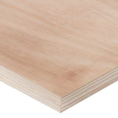 18mm Hardwood External Grade Plywood B/BB 2440mm x 1220mm (8' x 4') Pack of 50