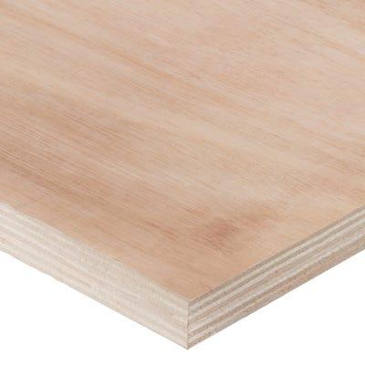 18mm Hardwood External Grade Plywood B/BB 2440mm x 1220mm (8' x 4') Pack of 50