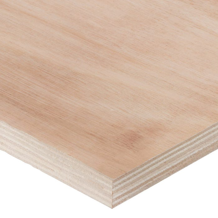 18mm Hardwood External Grade Plywood B Bb 2440mm X 1220mm 8 X 4 Pack Of 50