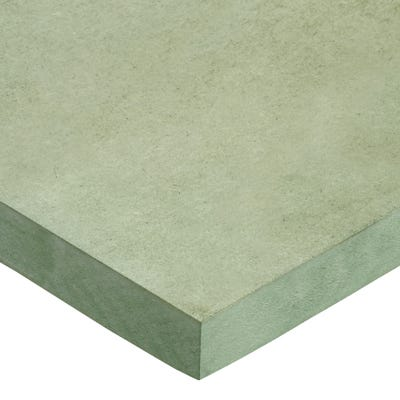 25mm Moisture Resistant MDF Board 2440mm x 1220mm (8' x 4') Pack of 35