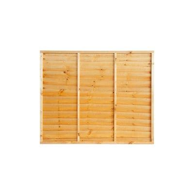 Grange Super Waney Treated Timber Fence Panel 5' x 6'