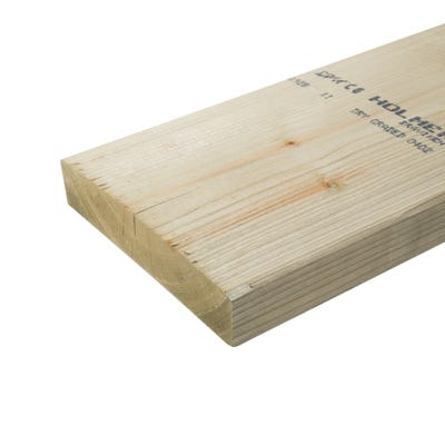 47mm x 225mm Structural Graded C24 Treated Carcassing Timber 4200mm (9'' x 2'')