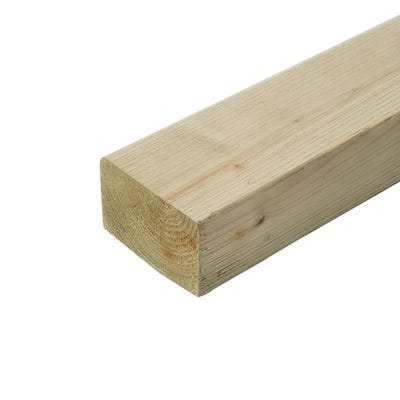 47mm x 75mm Treated Carcassing Timber 2400mm (3'' x 2'')