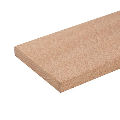 20mm x 145mm Planed Hardwood Meranti PAR Timber (6'' x 1'')