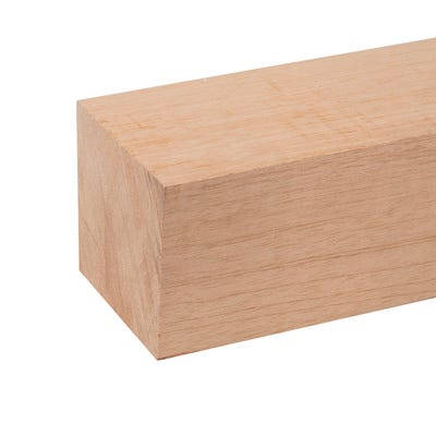 95mm x 95mm Planed Hardwood Meranti PAR Timber (4'' x 4'')