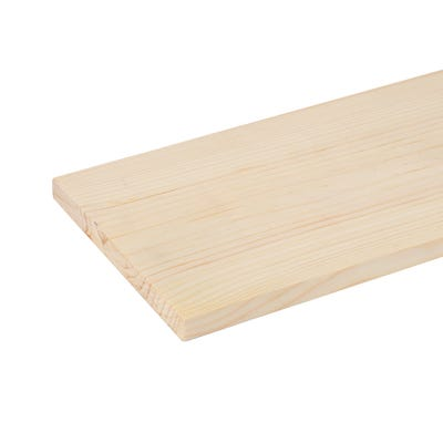 19mm x 150mm Planed Softwood PAR Timber (6'' x 0.75'') Finish 14.5mm x 144mm