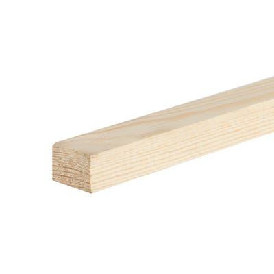 19mm x 25mm Planed Softwood PAR Timber (1'' x 0.75'') Finish 14.5mm x 20.5mm