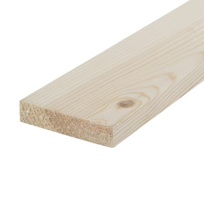 19mm x 75mm Planed Softwood PAR Timber (3'' x 0.75'') Finish 14.5mm x 69mm