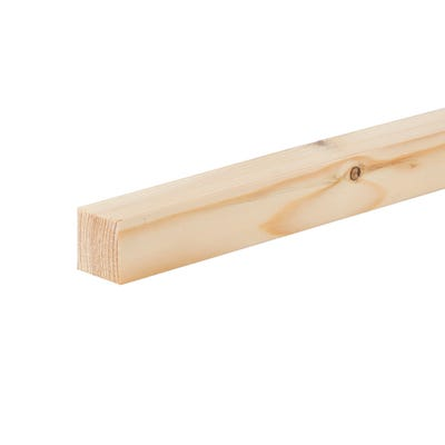 32mm x 32mm Planed Softwood PAR Timber (1.25'' x 1.25'') Finish 27mm x 27mm