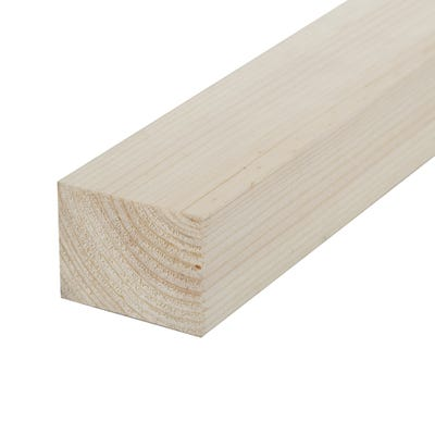38mm x 50mm Planed Softwood PAR Timber (2'' x 1.5'') Finish 33mm x 44mm
