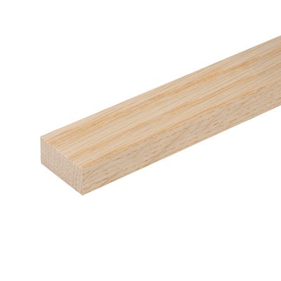 20mm x 45mm Planed Hardwood American White Oak PAR Timber (2'' x 1'')