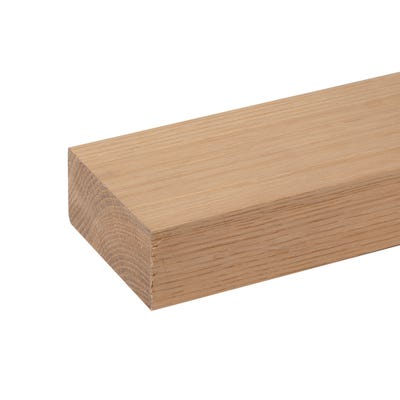 45mm x 95mm Planed Hardwood American White Oak PAR Timber (4'' x 2'')