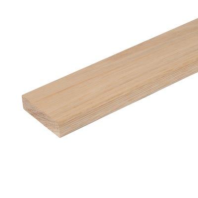 20mm x 68mm Hardwood American White Oak Pencil Round Architrave