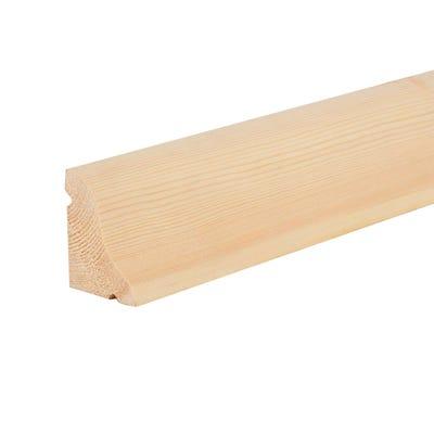 50mm x 63mm Softwood Reversible Door Drip (2.5'' x 2'') Finish 44mm x 57mm